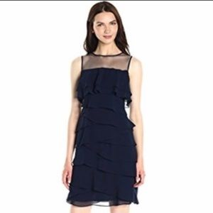 Adrianna Papell Tiered Sheath Dress - Brand New
